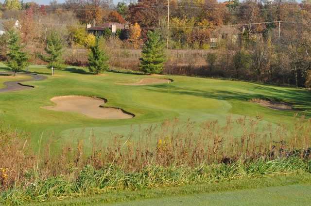 A fall view from Settler's Hill Golf Course
