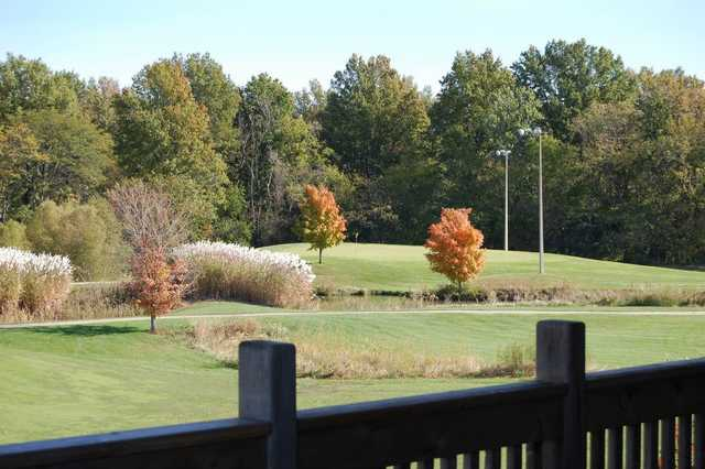 A view from the clubhouse terrace at Governors Run Golf & Country Club