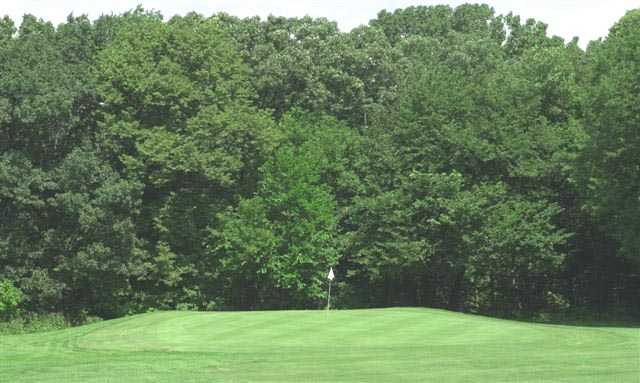 A view of green at Edgebrook Golf Course