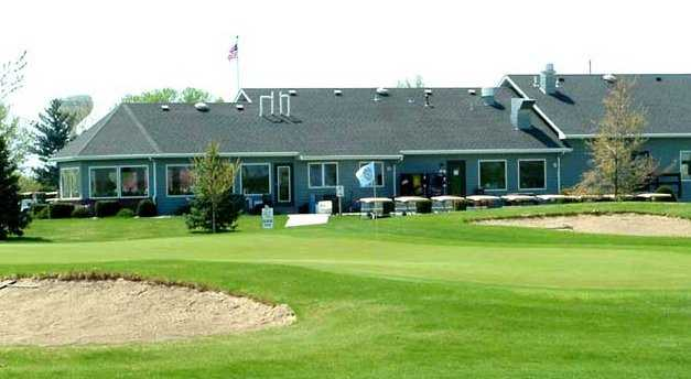 A view of the clubhouse at Railside Golf Club