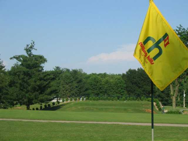 A view from green #15 at Championship Course from Rolling Hills Golf Club