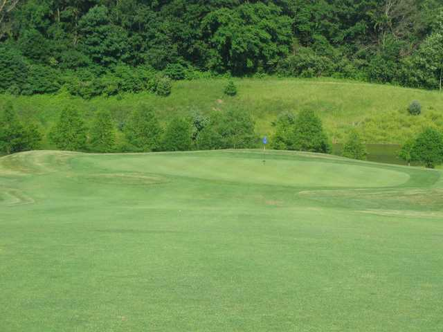 A view of the 4th green at Championship Course from Rolling Hills Golf Club