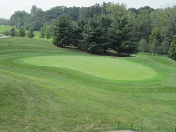 A view of the 2nd hole at Championship Course from Rolling Hills Golf Club