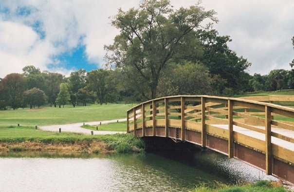 A view over the bridge at Eaglewood Resort & Spa