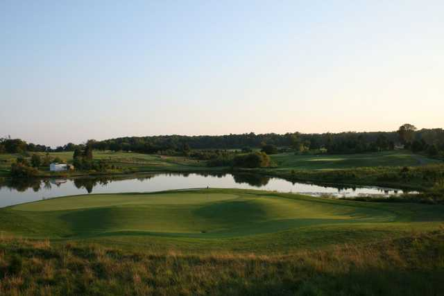 A view from Pleasant Valley Golf Club.