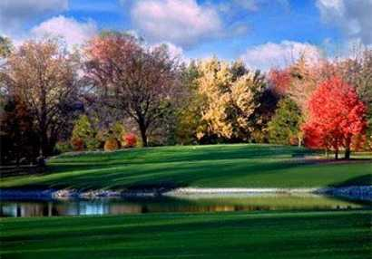 A fall view from Old Orchard Country Club