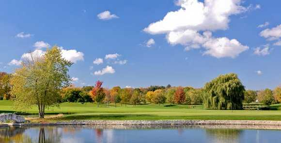 A fall view from Aldeen Golf Club