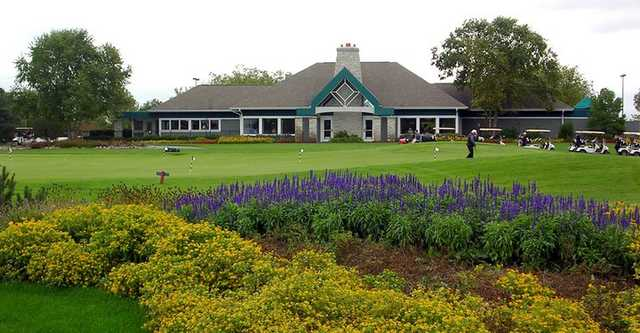 A view of the clubhouse at Aldeen Golf Club