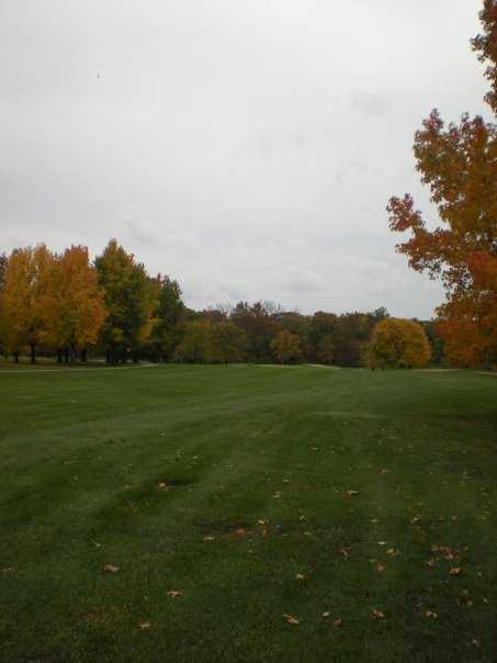 A view of the 2nd hole at Rail Golf Club