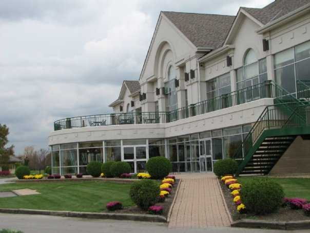 A view of the clubhouse at Odyssey Golf Course