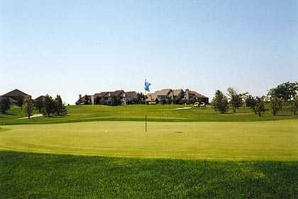 A view of the 7th hole at Odyssey Golf Course