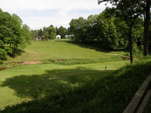 A view from Bristolwood Golf Course