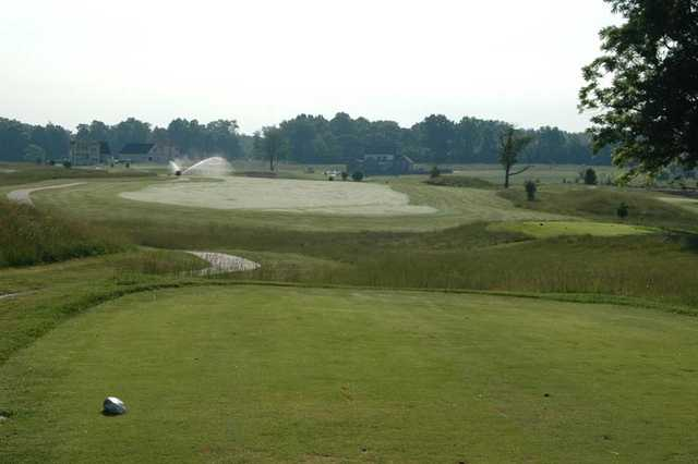 A view from tee #2 at North Nine from Stone Crest Golf Community.