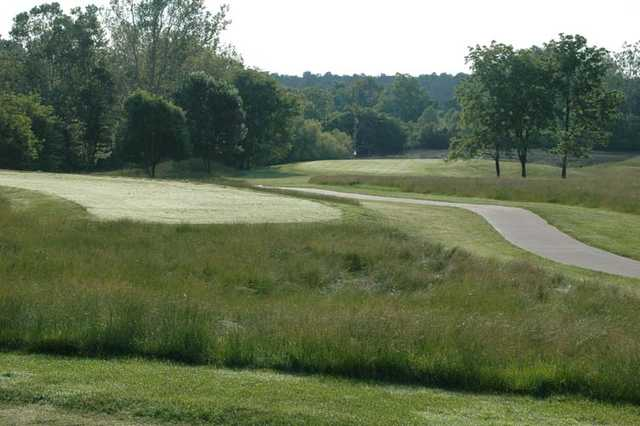 A view of hole #8 at West Nine from Stone Crest Golf Community.
