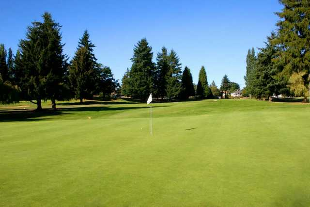 A view of hole #3 at Allenmore Golf Course