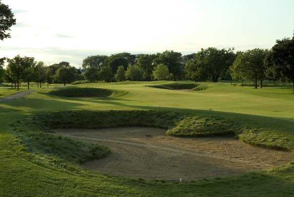 A view of the 3rd hole at Chevy Chase Country Club