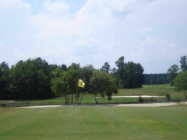 A view of hole #9 at Kountryside Golf Course