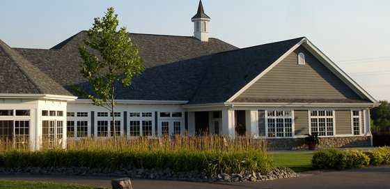 A view of the clubhouse at Legendary Run Golf Club