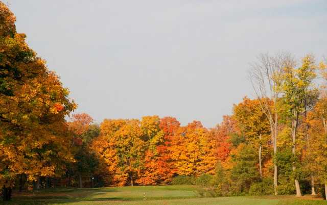A view of hole #4 from the Blue Nine at Hamilton Elks GC