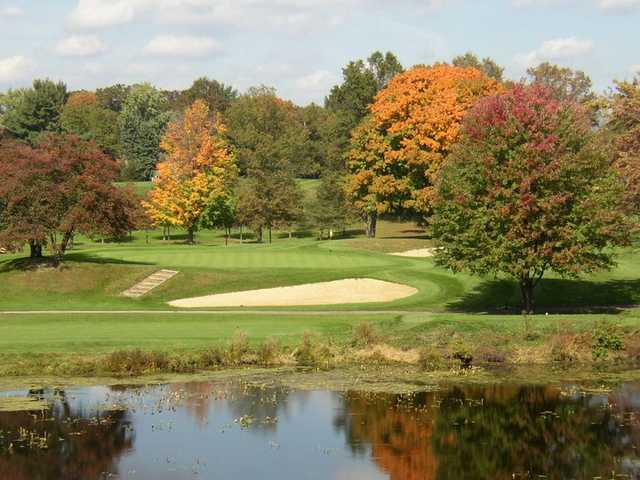 A fall view from The Fairways at Twin Lakes