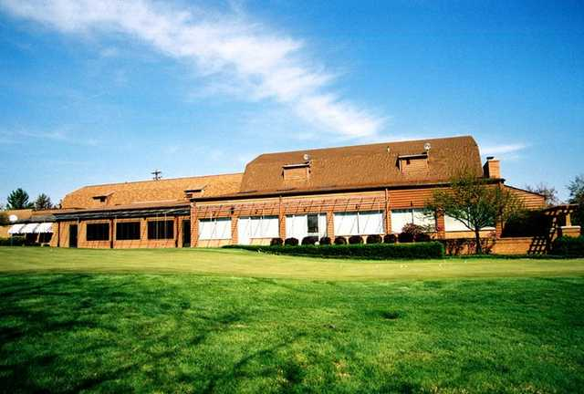 A view of the clubhouse at Brown's Run Country Club