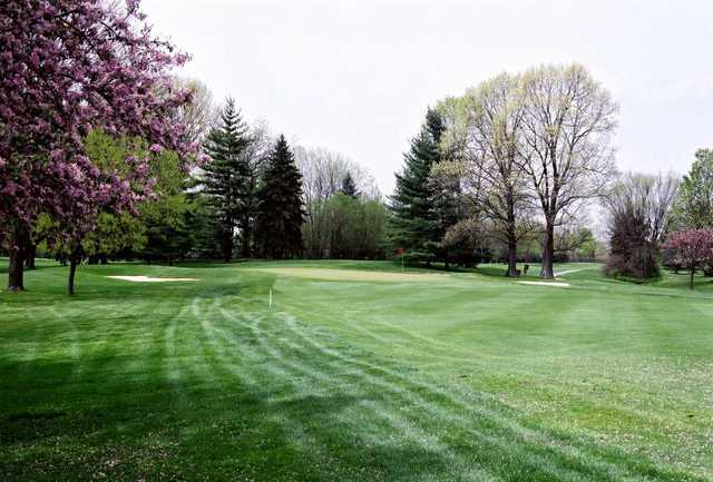 A spring view from Brown's Run Country Club