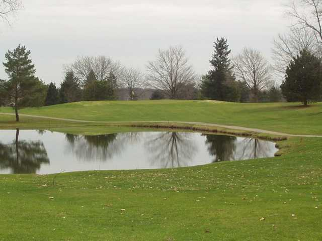 A view of hole #11 at South from Reid Park Golf Club