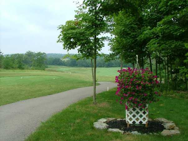 A view from the 4th tee at Indian Ridge Golf Club