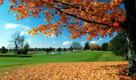A fall view from Mohawk Golf Club