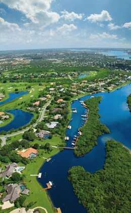 Aerial view from Piper's Landing Country Club