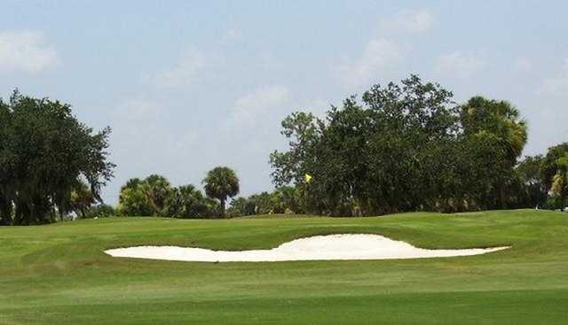 A view of the 11th green at Port Charlotte Golf Club