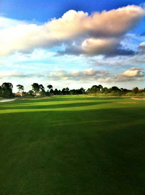 A view from the 2nd fairway at PGA Golf Club - Dye Course