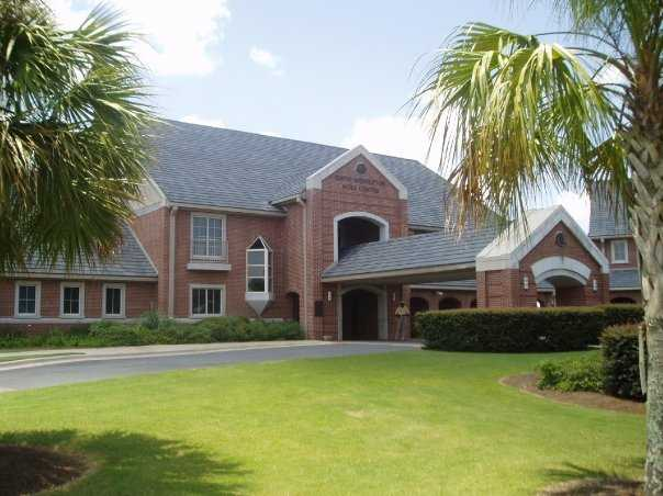 A view of the clubhouse at Seminole Legacy Golf Club