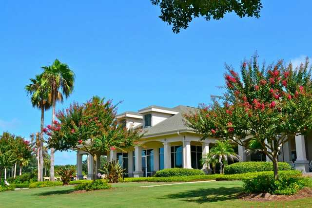 A view of the clubhouse at Buckhorn Springs Golf & Country Club