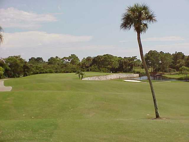 A view of the 2nd hole at Bobcat Course from Plantation Golf & Country Club