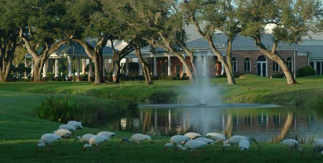 A view of the clubhouse at Vero Beach Country Club