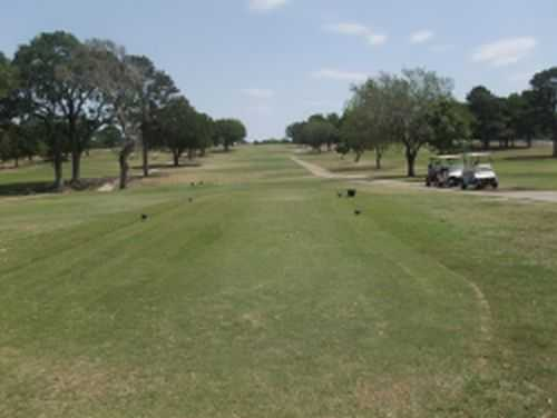 A view of fairway #1 at 	Bellville Golf & Recreation Club
