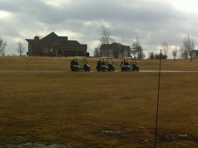 A view from Country Creek Golf Club