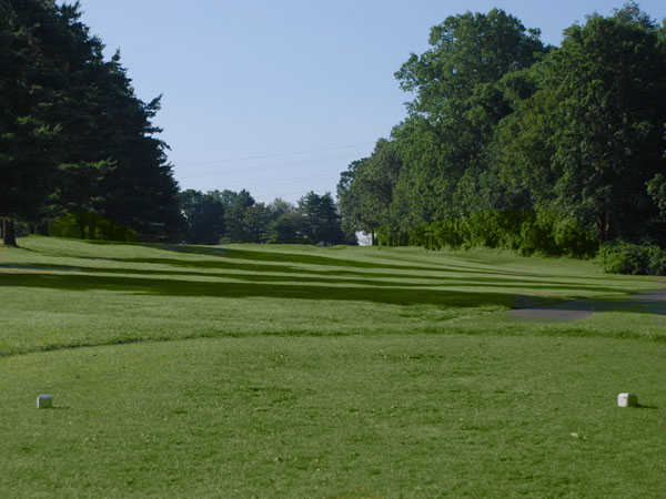 A view from the 9th tee at Black from D. Fairchild Wheeler Golf Course