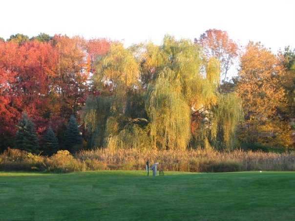 A view of hole #7 at Minnechaug Golf Course