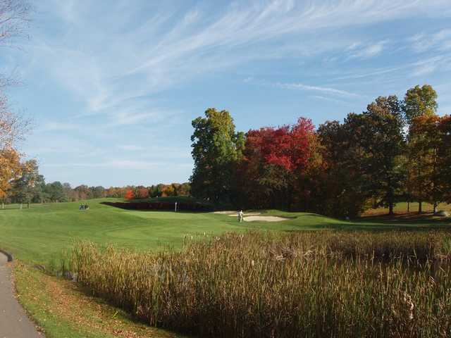 A view of the 3rd green at Blackledge Country Club - Anderson's Glen