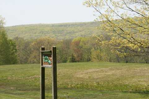 A view from tee box #2 at Blackledge Country Club - Anderson's Glen
