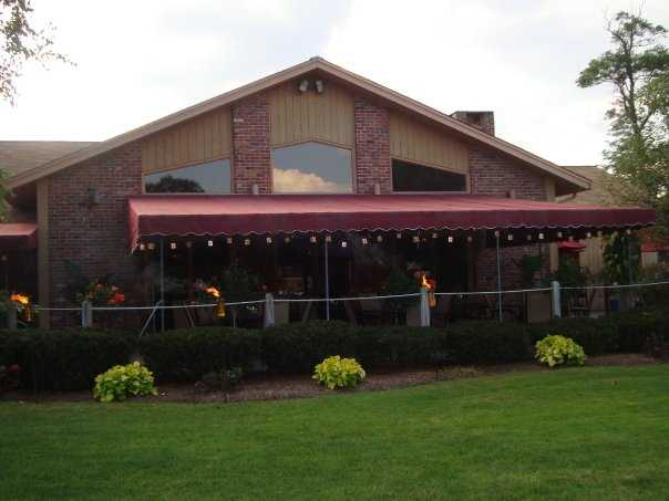 A view of the clubhouse at Blackledge Country Club