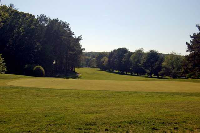 A view of hole #6 at Manchester Country Club