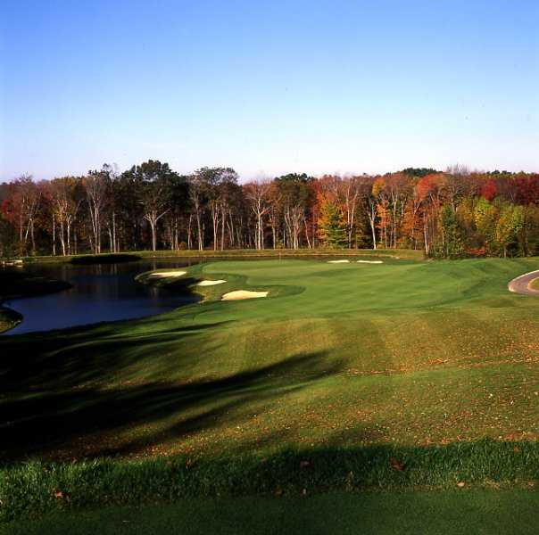 A view of hole #2 at Oxford Greens Golf Club