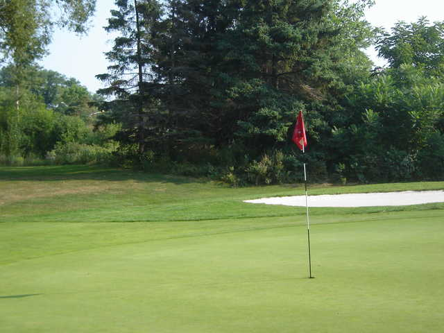 A view of the 4th green at Rockway Golf Club