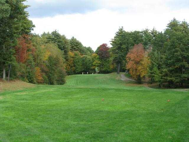 A fall view from tee at Mill Valley Golf Links
