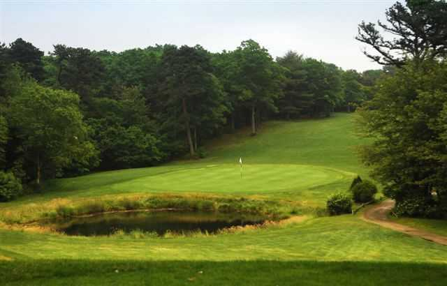 A view of the 4th hole at Falmouth Country Club - Eighteen Hole