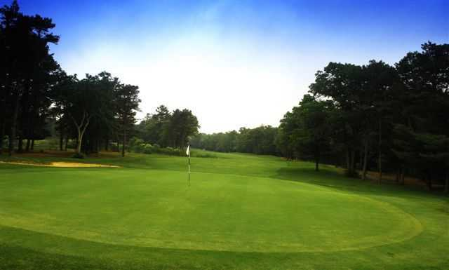 A view of hole #5 at Falmouth Country Club - Eighteen Hole