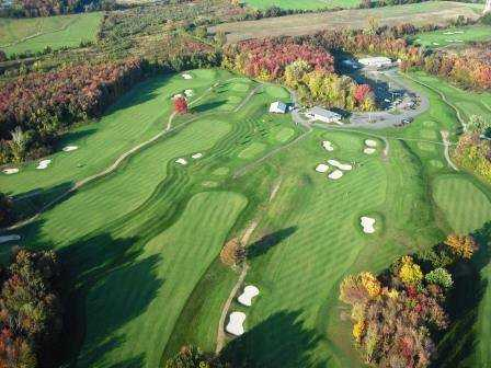 Aerial view from Ledges Golf Club